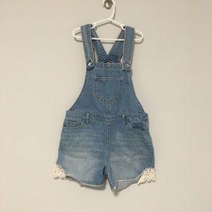 CHILDREN'S PLACE | denim overalls